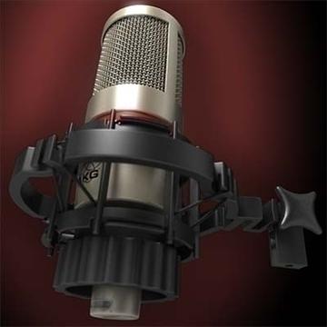 akg c 4000 b mikrofon 3d model 3ds max fbx obj 80779