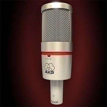 akg c 4000 b mikrofon 3d model 3ds max fbx obj 80780