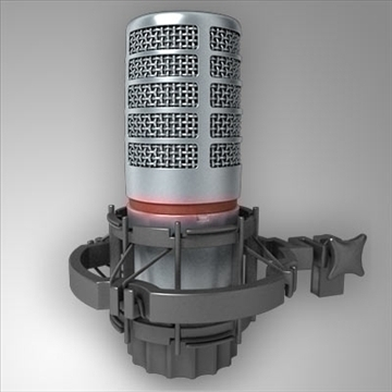 akg c 4500 b-bc microphone 3d model 3ds max fbx other obj 80758