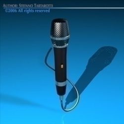 Microphone ( 53.76KB jpg by tartino )