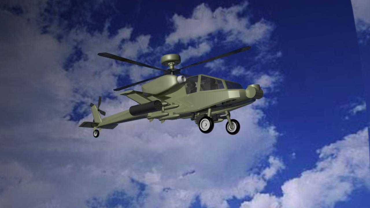 apache helicopter 3d model ma mb other 116112