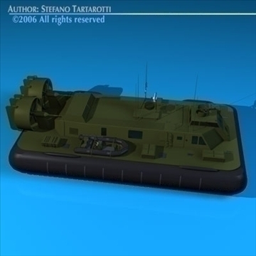 army hovercraft 3d model 3ds dxf c4d obj 82961