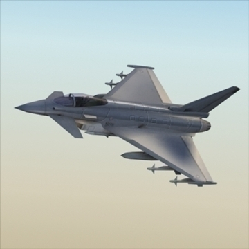efa typhoon_ 3d model 3ds max 99481