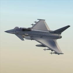 EFA Typhoon_3DModel ( 60.4KB jpg by 3DArtisan )