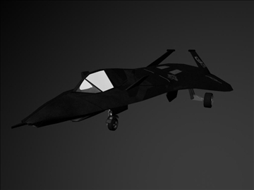 f19 stealth fighter 3d model ma mb 102218