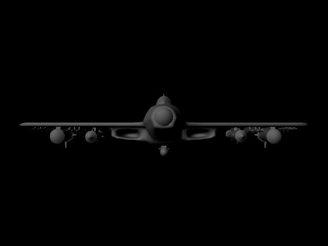 jet plane 3d model ma mb 112183