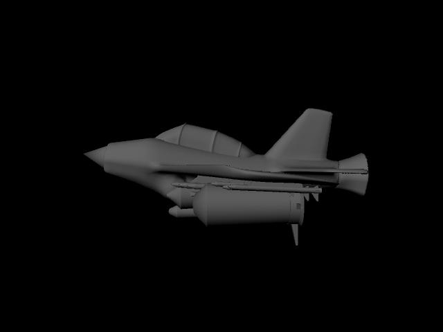 jet plane 3d model ma mb 112184