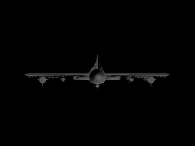 jet plane 3d model ma mb 112185