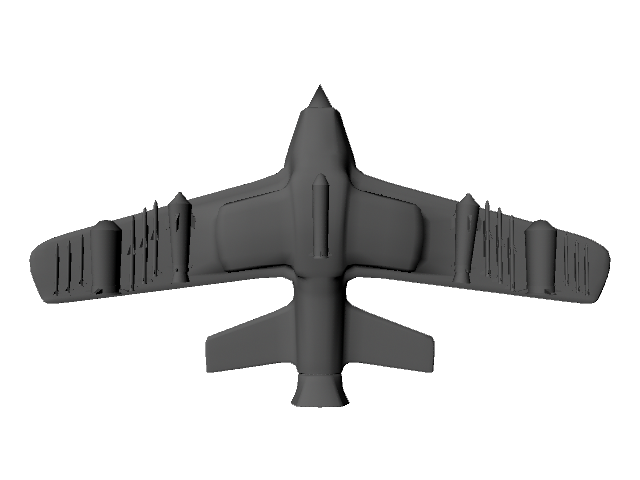 jet plane 3d model ma mb 112186