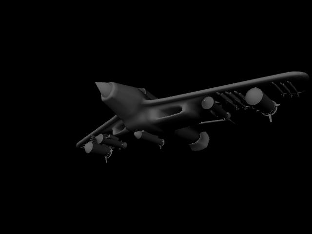 jet plane 3d model ma mb 112187