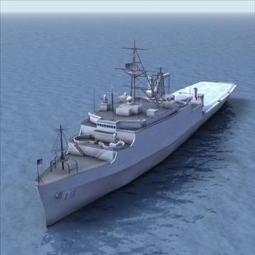 lpd 4 amphibious assault ship 3d model 3ds max lwo ma mb hrc xsi texture obj 99717