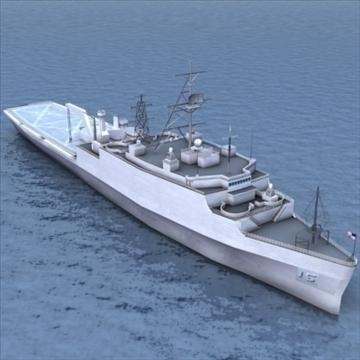 lpd 4 amphibious assault ship 3d model 3ds max lwo ma mb hrc xsi texture obj 99720