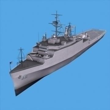 lpd 4 amphibious assault ship 3d model 3ds max lwo ma mb hrc xsi texture obj 99722