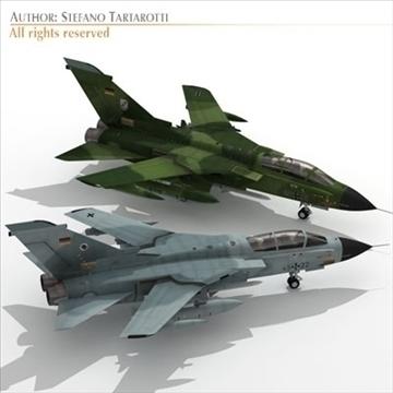 military airforce jet 3d model 3ds dxf c4d obj 104772