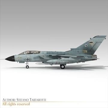 military airforce jet 3d model 3ds dxf c4d obj 104775