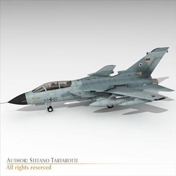 military airforce jet 3d model 3ds dxf c4d obj 104776