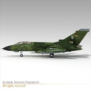 military airforce jet 3d model 3ds dxf c4d obj 104777