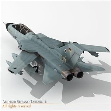 military airforce jet 3d model 3ds dxf c4d obj 104779