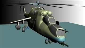 vojni helikopter 3d model max 90346