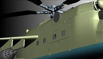 héileacaptar míleata 3d model max 90349