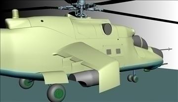 héileacaptar míleata 3d model max 90350