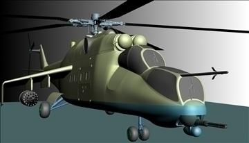 héileacaptar míleata 3d model max 90353