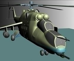 Military helicopter ( 36.82KB jpg by Redcapnyc )