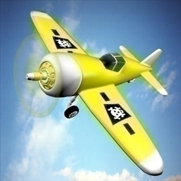 stari avion 3d model max 92401