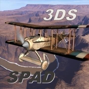 spad 3d model 3ds 80151