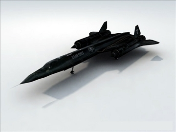 sr71 blackbird_game 3d model max 99566
