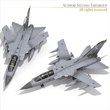 avion tornado 3d model 3ds dxf c4d obj 104842