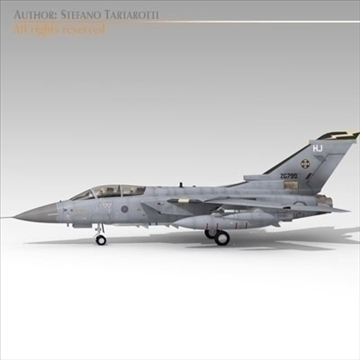 tornado airplane 3d model 3ds dxf c4d obj 104845