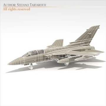 tornado airplane 3d model 3ds dxf c4d obj 104851