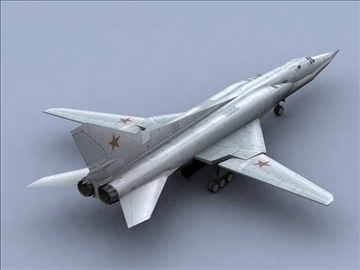 tu22 bomber_game 3d model 3ds max lwo hrc xsi 99570