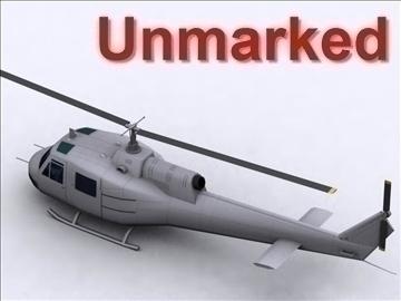 uh 1 iroquois 3d model max 111770