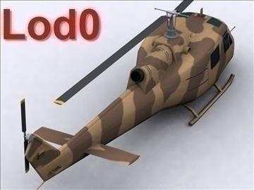 uh 1 iroquois 3d model max 111774