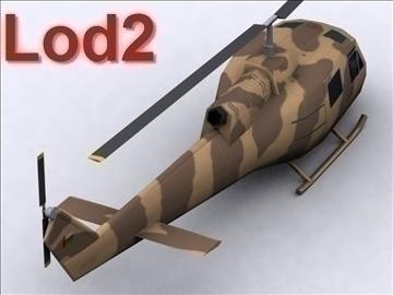 uh 1 iroquois 3d model max 111776