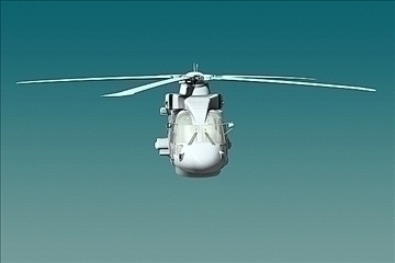 uk navy eh-101 merlin helicopter 3ds 3d model 3ds 83255