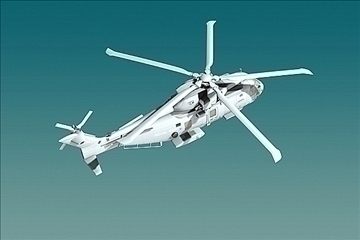 uk navy eh-101 merlin helicopter 3ds 3d model 3ds 83260