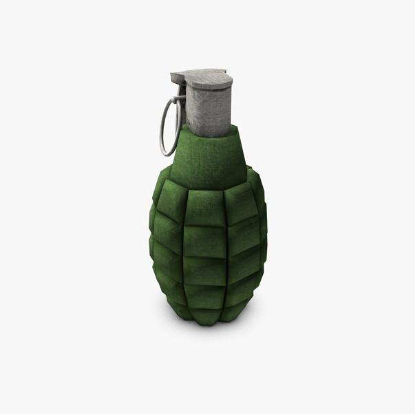 grenade lámh íseal polai samhail 3d 3ds max fbx c4d obj 139412