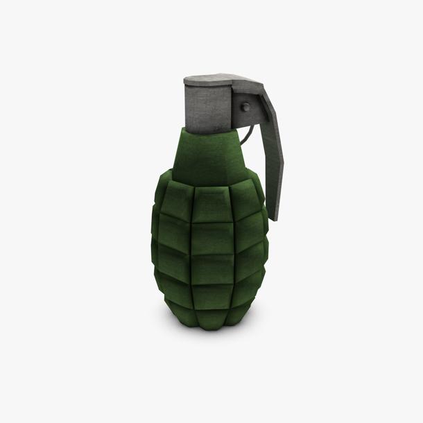 grenade lámh íseal polai samhail 3d 3ds max fbx c4d obj 139413