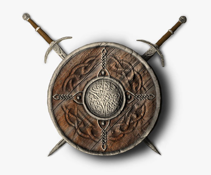 shield and sword 3d model 3ds max fbx c4d obj 138584