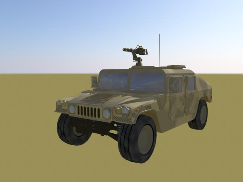 special forces humvee- desert camo version 3d model ma mb 161295