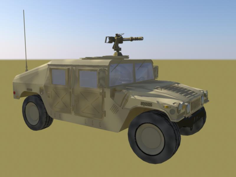 īpašie spēki humve- desert camo versija 3d modelis ma mb 161297