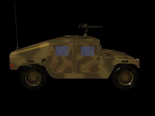 īpašie spēki humve- desert camo versija 3d modelis ma mb 161301
