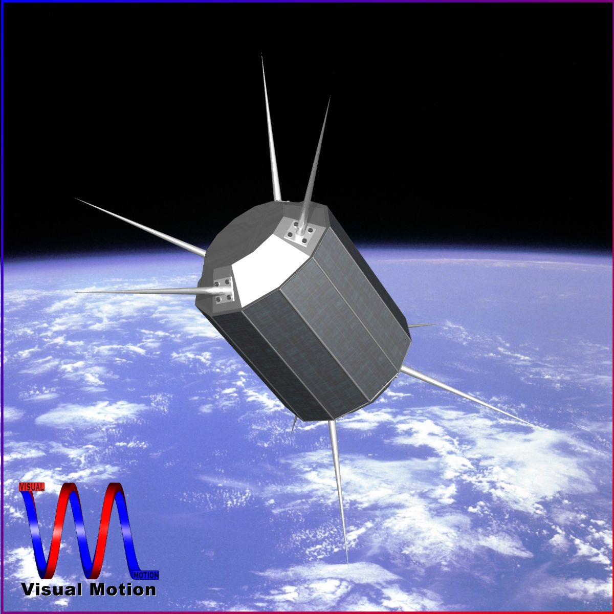 us uhf satellite 3d model 3ds dxf fbx blend dae x cod scn obj 149543