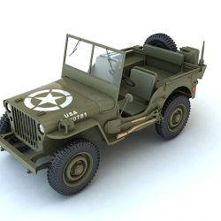 Willys MB 3d model max