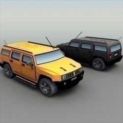 H2_Hummer_3DModel ( 70.1KB jpg by 3DArtisan )