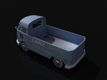 vw bulli 3d model 3ds max obj 108384