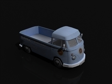 vw bulli 3d model 3ds max obj 108385